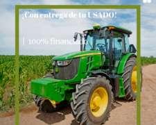 Tractor John Deere 6110e, con Cabina