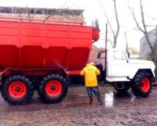 Permuto por Tractor Camión 6X6 Tolva