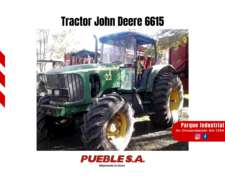Tractor John Deere 6615 2008 Financiación en Pesos