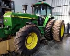 Tractor John Deere 4960 año 1998