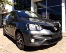 Etios 5 Ptas XLS Manual 0km MY21 Orio Hnos