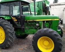 Tractor John Deere 3550 con TDF Independiente