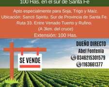 Campo Agricola Ganadero - 100 Has.
