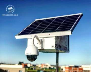 Camara De Seguridad Con Panel Solar Y Módulo De Internet