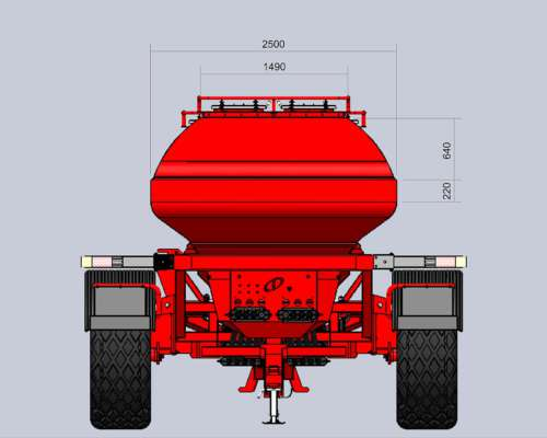 Sembradora Monumental AIR Drill 10000 Granos Finos y Pastura