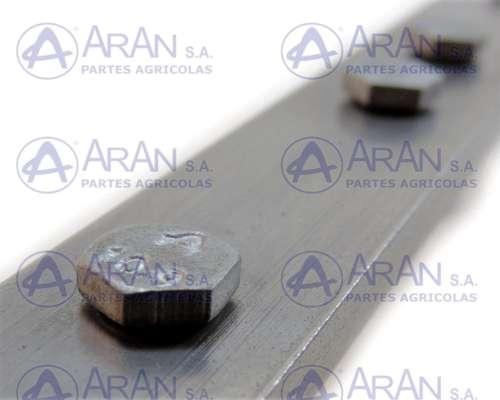 Varilla de 21ft 25x6 C/tornillos de 5,5mm para Vassalli - DR