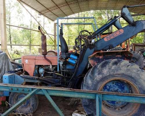 Tractor Fiat 500 con Pala Inmeca