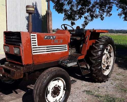 Tractor Usado Fiat 880 con Tres Puntos y Dirección Hidráu.