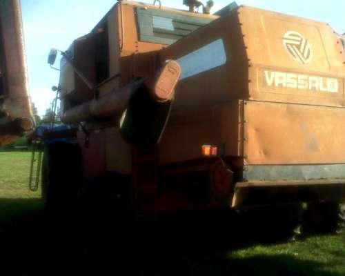 Cosechadora Vasalli 1200 Plataforma Trigo Soja 23 Motor Deut