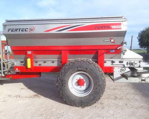 Fertilizadora Fertec - Fertil 7500 Serie 5 Inoxidable