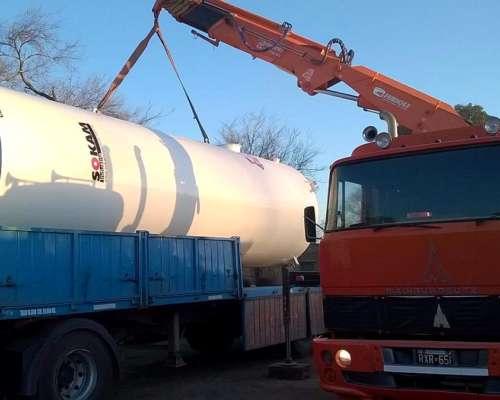Cisterna Vertical para Combustible