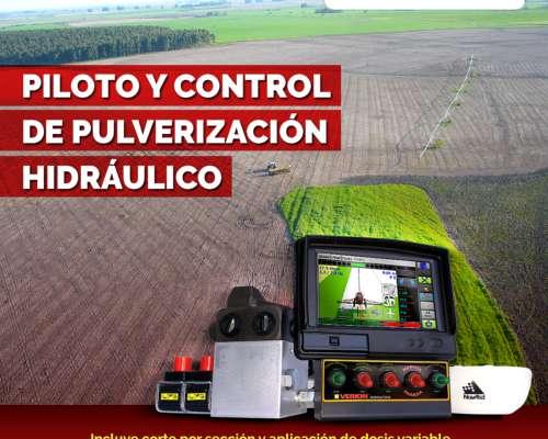 Piloto y Control de Pulverizacion con Corte Automático