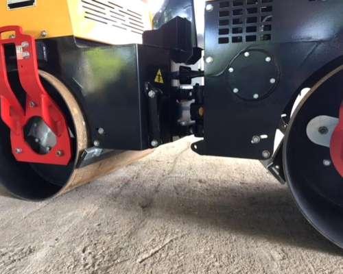 Aplanadora Rodillo Tandem Compactador - Vibrador