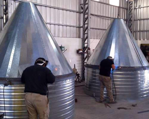Silos Graneleros Estructura Metálica- Silos P/ Fertilizante