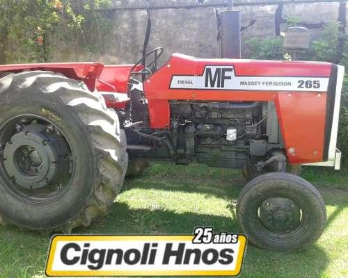 Massey Ferguson 265, Vende Cignoli Hnos.