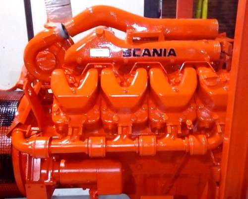 Grupo Electrogeno Scania 400 Kva Impecable