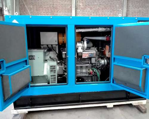 Grupo Electrógeno Diesel 125 KVA Logus Cabinado Insonorizado