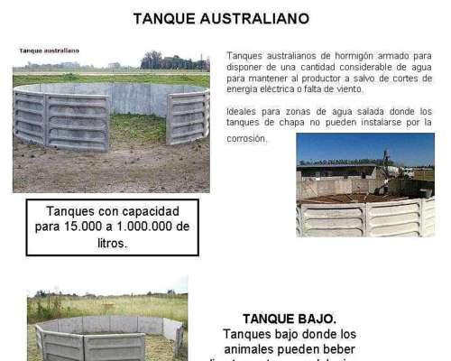 Aguadas - Tanques Australianos - Bebederos