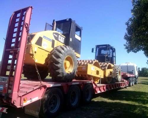 Transporte de Maquinaria Agrícola y Vial (carretón)
