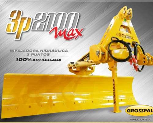 Niveladora Hidráulica 3p 2100 MAX - Grosspal