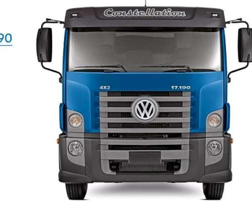 Camión Volkswagen Constellation 17.190/48 Chasis