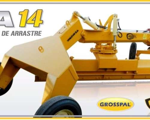 Niveladora de Arrastre Grosspal NA 14