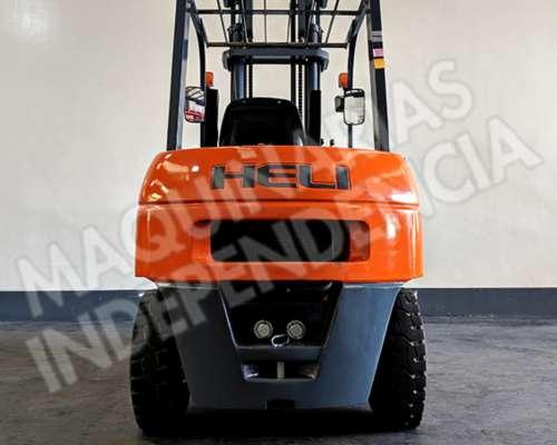 Autoelevador Heli 3500 Kg Diesel CPCD35 Desplazador 0km