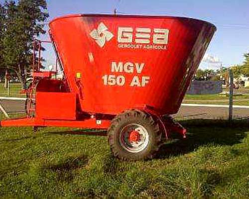 Mixer Vertical GEA 15m3 Vertical