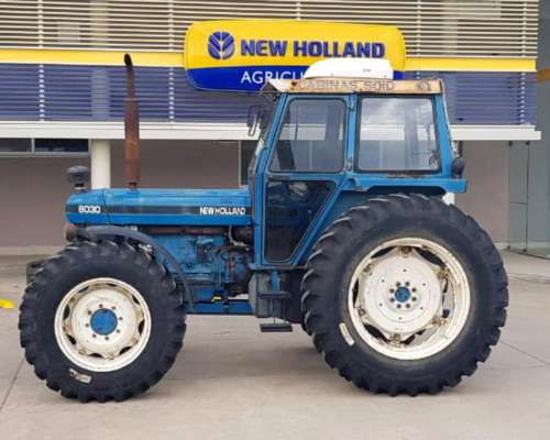 Tractor New Holland 8030, año 1998