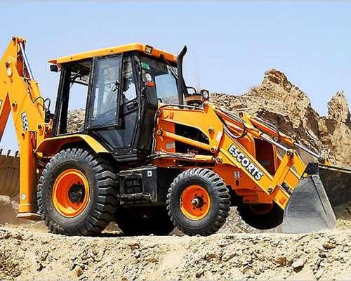 Pala Retro Excavadora Escorts 4X4