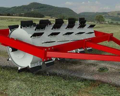 Rolo Aireador de Pasturas RA C 3000