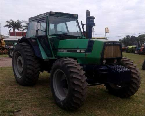 Tractor Deutz DX160 Doble Tracción