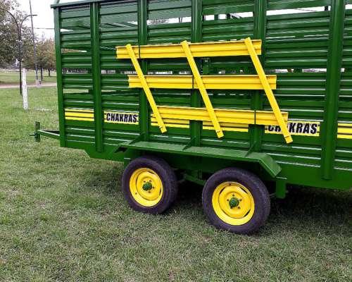 Carro para Transporte de Hacienda de 4mts X 2mts