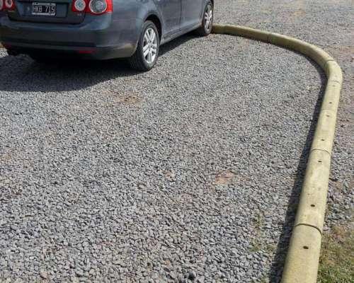 Cordón Premoldeados Para Estacionamiento Longitud 1 Mt