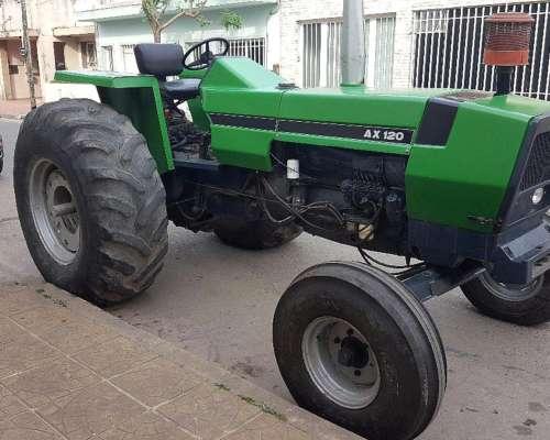 Tractor, Deutz AX 120 , con 3 Puntos.