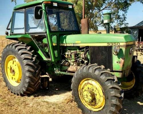 Tractor John Deere 3350 Doble Traccion