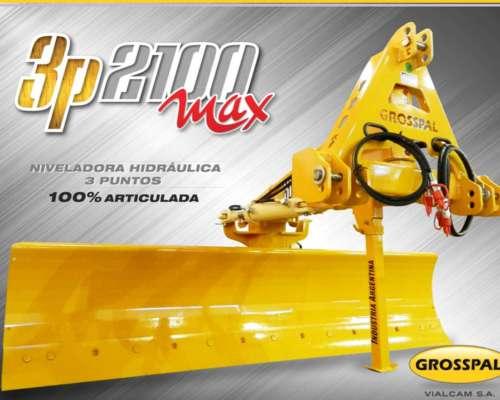 Niveladora Hidráulica 3 P 2100max