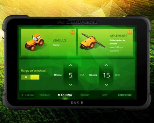 Mapeador Satelital DUX 8 Display - Agricultura de Precisión