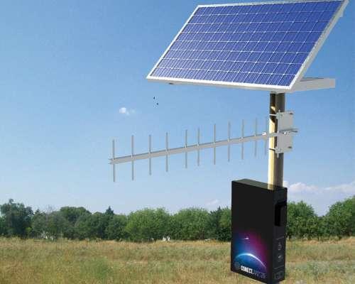 Internet Rural Solar o a 220v