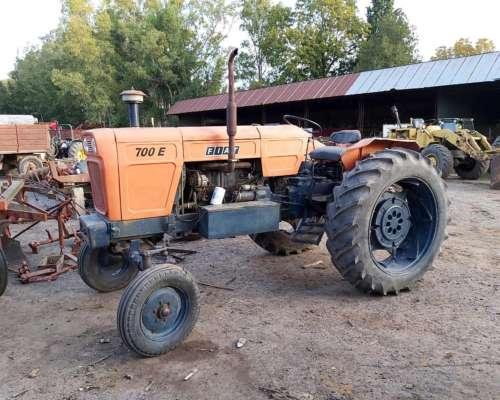 Tractor Fiat 700 e Cañero con 3 Puntos