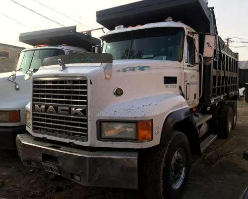 Camión Importado Mack Tatu 6X4 Volcadora - 1.999 / Americano