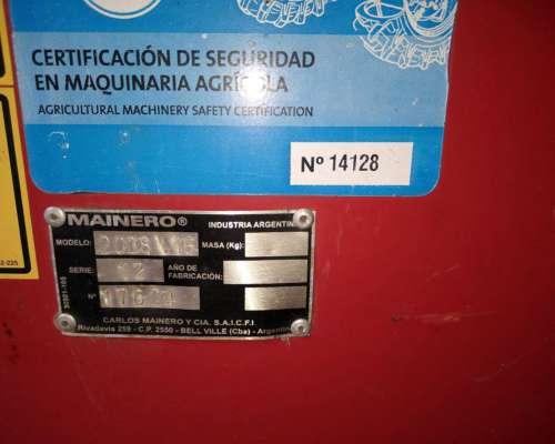 Cabezal Mainero 2008 de 16 a 52 año 2012 Plastico Completo