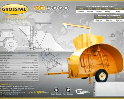 Embolsadora de Granos Secos VG9000 Grosspal