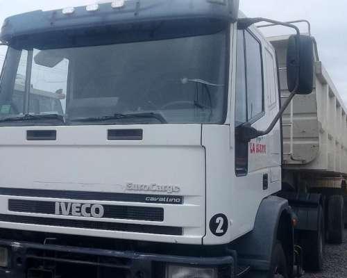 Camion Iveco Cavallino 450 Con Batea Salto