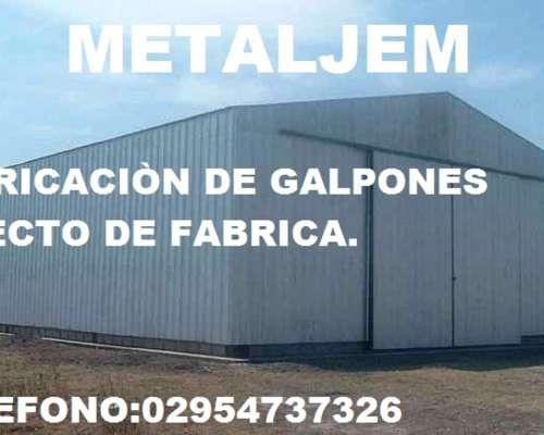 Galpones y Tinglados Colonia Menonita.directo de Fabrica.