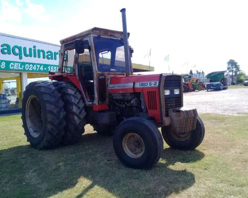 Tractor Massey Ferguson 1360 S2 con Duales, muy Buen Estado