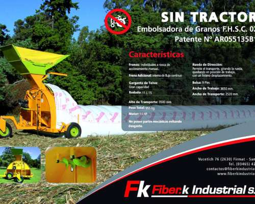 Financiacion Embolsadora Fiber-k TOP