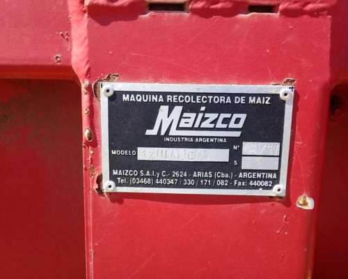 Cabezal Maizco 7 a 70 CM. muy Buen Estado WSP 3455-646926