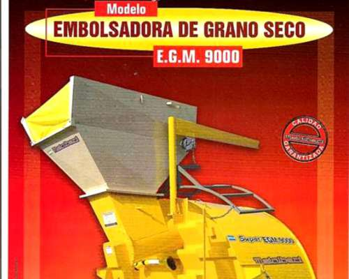Embolsadora de Grano Seco Metalbert.