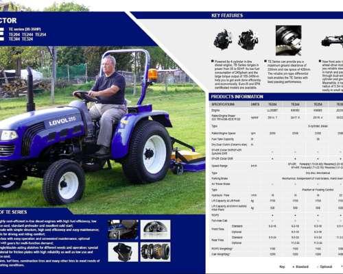 Tractor Agricola Modelo TE 250 - 25hp Diesel